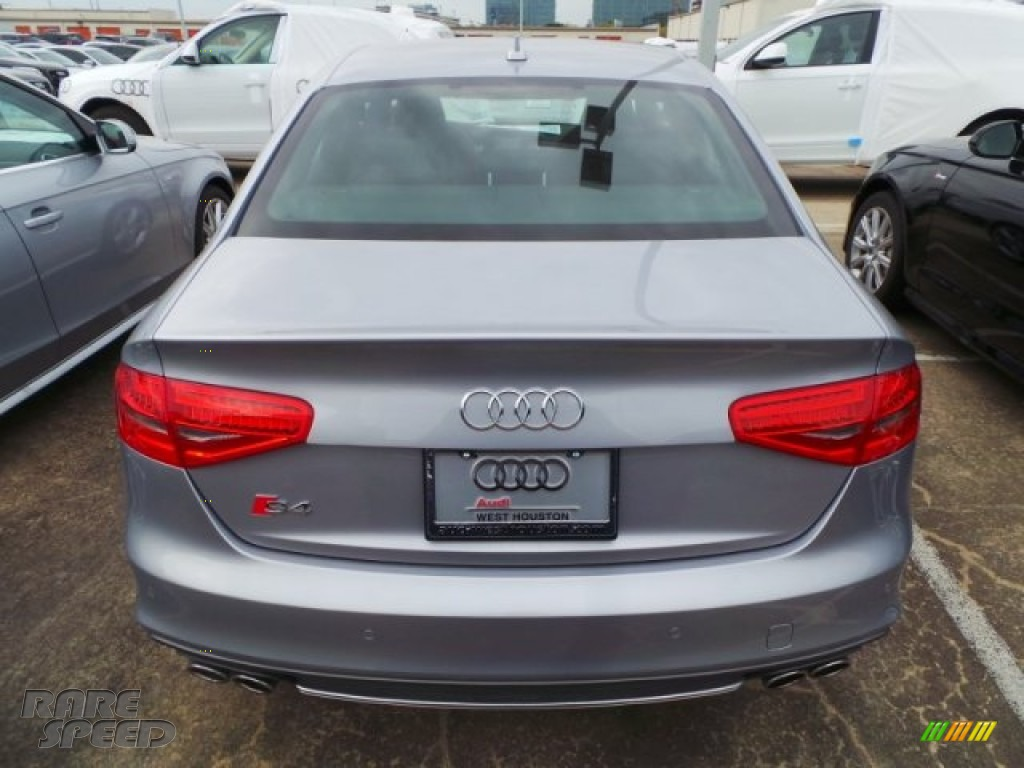 2015 S4 Premium Plus 3.0 TFSI quattro - Florett Silver Metallic / Black/Magma Red photo #5