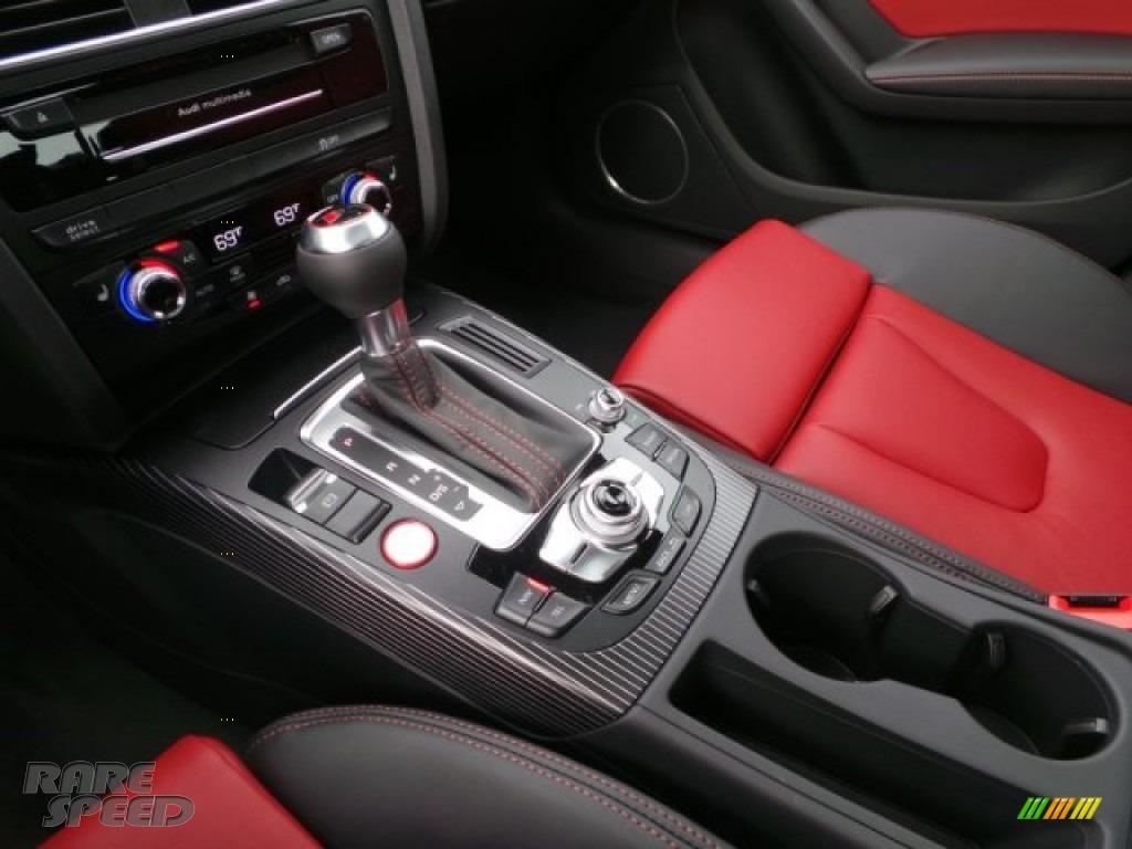 2015 S4 Premium Plus 3.0 TFSI quattro - Florett Silver Metallic / Black/Magma Red photo #13