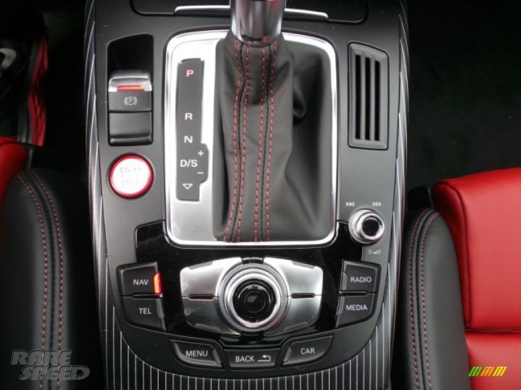 2015 S4 Premium Plus 3.0 TFSI quattro - Florett Silver Metallic / Black/Magma Red photo #17