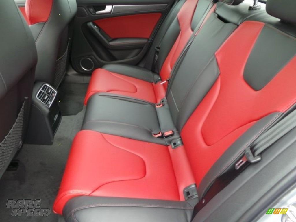 2015 S4 Premium Plus 3.0 TFSI quattro - Florett Silver Metallic / Black/Magma Red photo #22