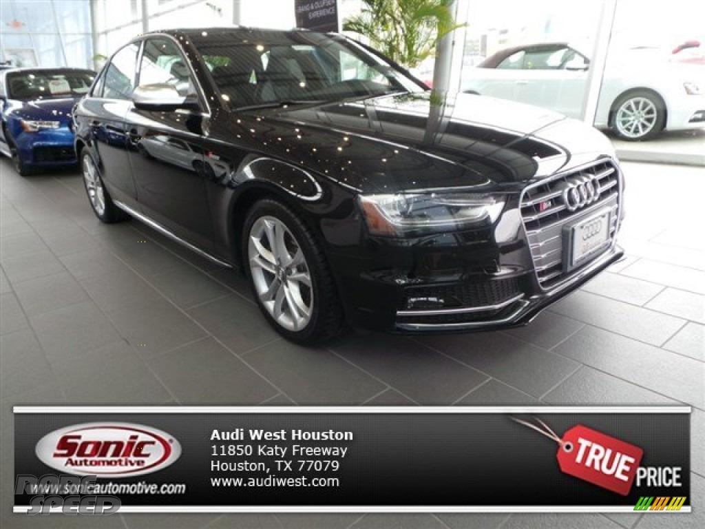 Brilliant Black / Black Audi S4 Premium Plus 3.0 TFSI quattro