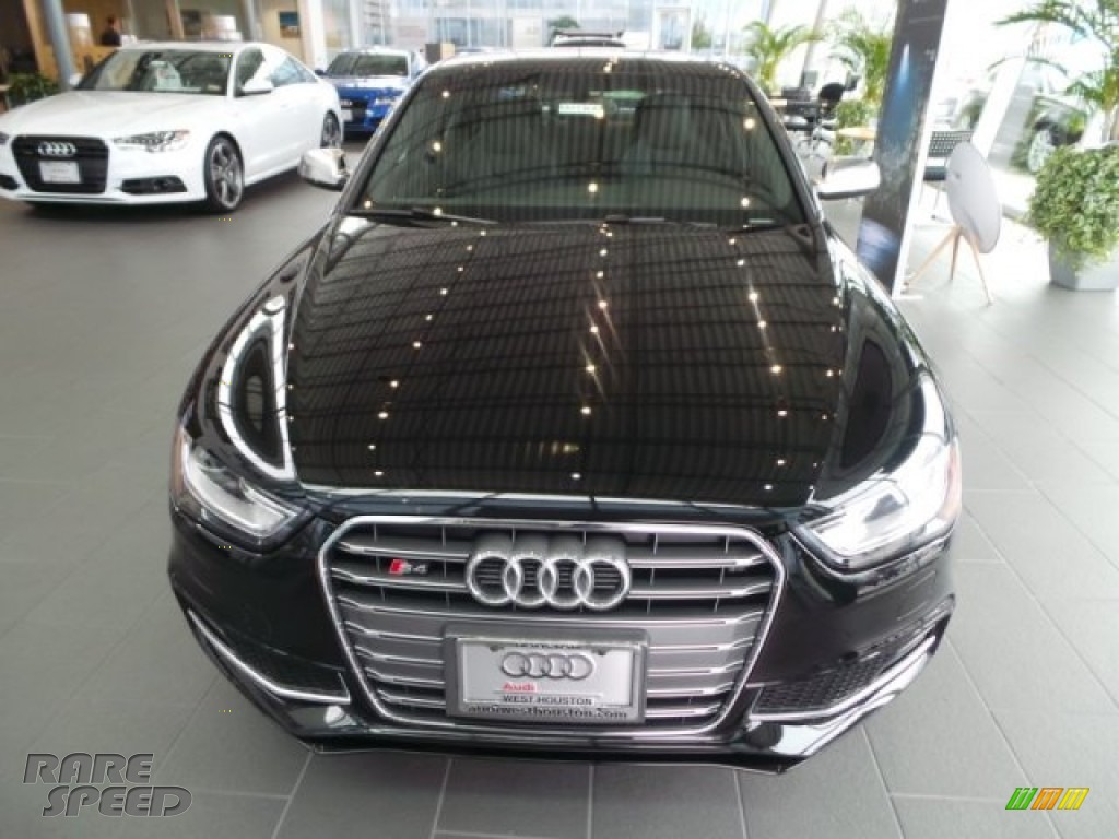 2015 S4 Premium Plus 3.0 TFSI quattro - Brilliant Black / Black photo #2
