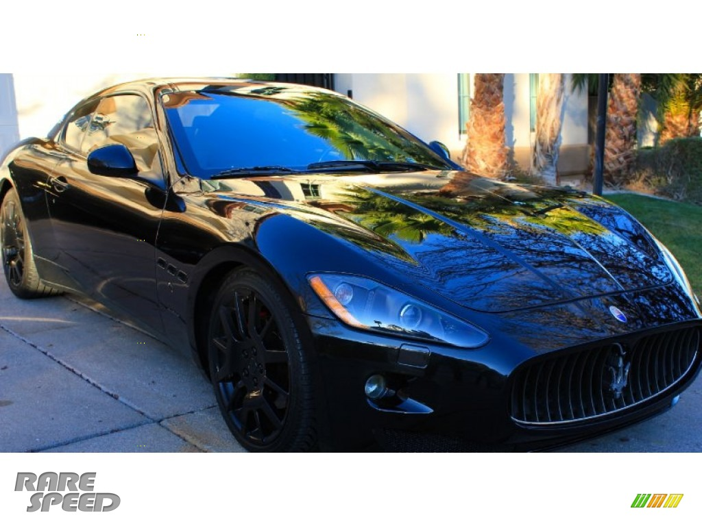 2008 GranTurismo  - Nero Carbonio (Metallic Black) / Nero photo #1