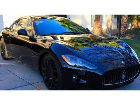 Nero Carbonio (Metallic Black) 2008 Maserati GranTurismo