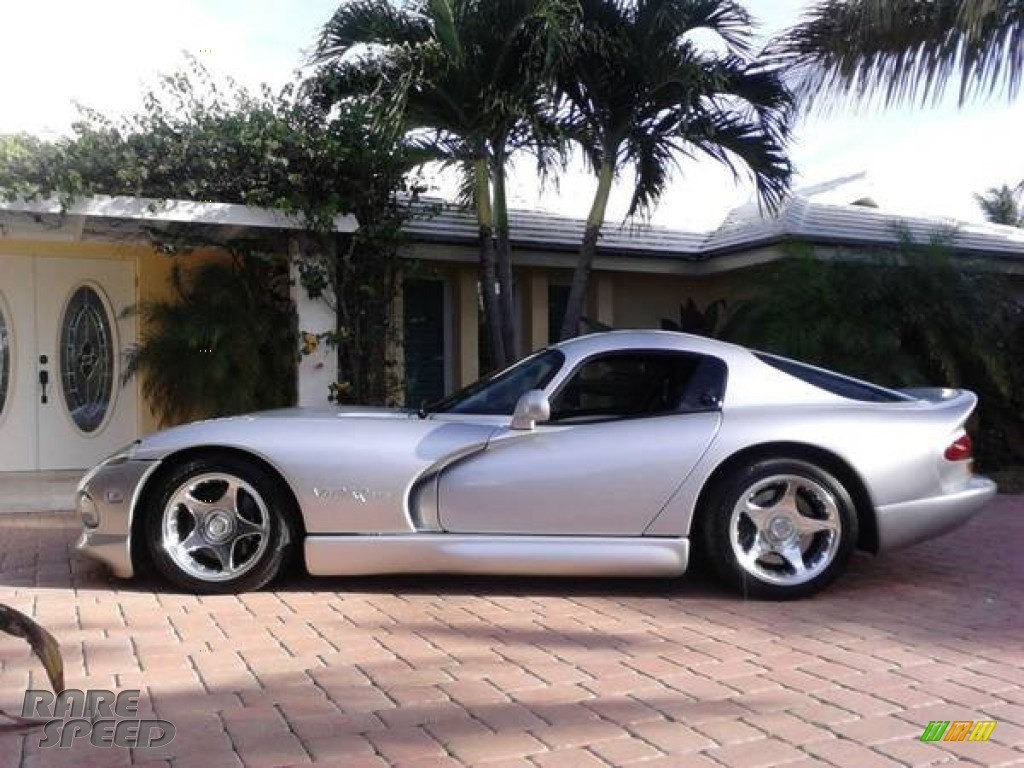 1998 Dodge Viper Gts In Viper Bright Silver Metallic Photo