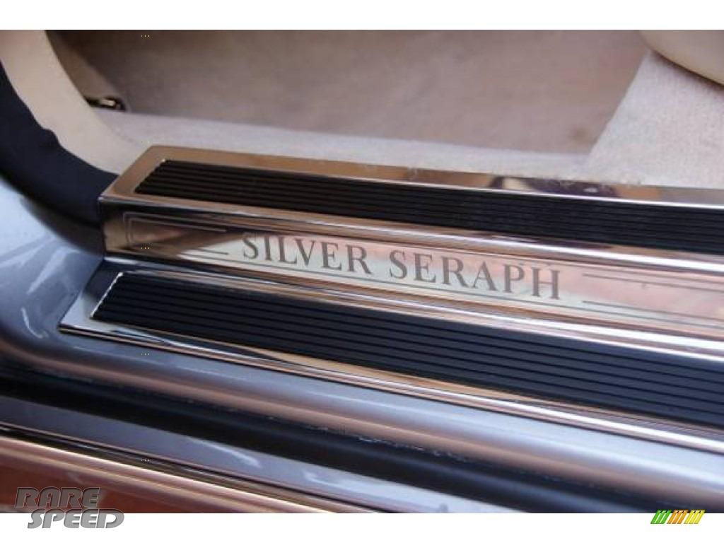 2000 Silver Seraph  - Dark Silver / Beige photo #20