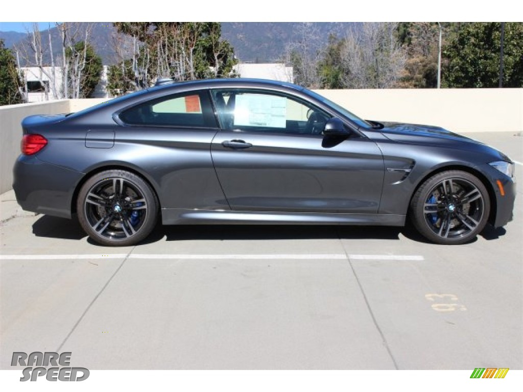 2015 Bmw M4 Coupe In Mineral Grey Metallic Photo 2