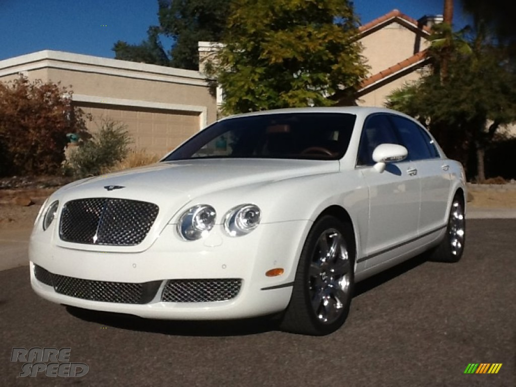 2006 Continental Flying Spur  - Glacier White / Cognac photo #1