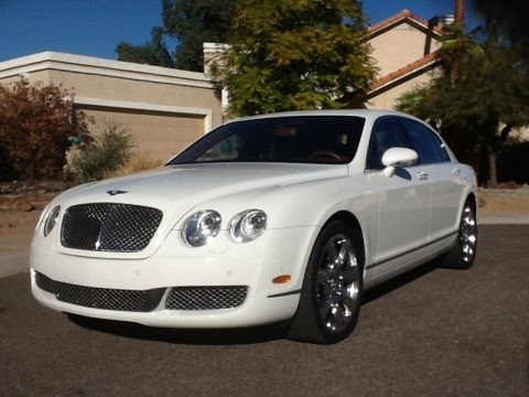 Glacier White 2006 Bentley Continental Flying Spur