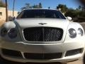 Bentley Continental Flying Spur  Glacier White photo #7