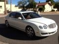 Bentley Continental Flying Spur  Glacier White photo #11