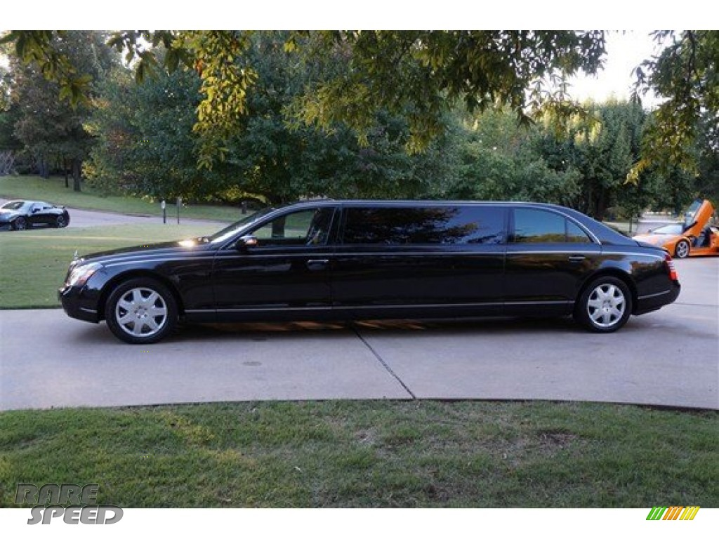 Black / Labrador Anthracite Maybach 57 Limousine