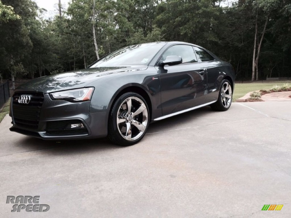 2015 Audi S5 3.0T Premium Plus quattro Coupe in Daytona Grey Pearl photo #2 - 039893 | RareSpeed.com