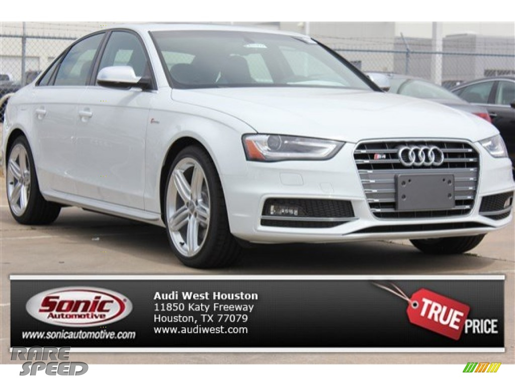 2015 S4 Premium Plus 3.0 TFSI quattro - Glacier White Metallic / Black/Lunar Silver photo #1