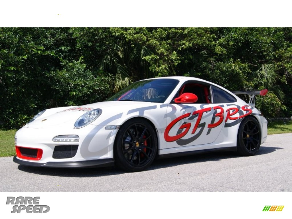 2011 911 GT3 RS - Carrara White/Guards Red / Black w/Alcantara photo #1
