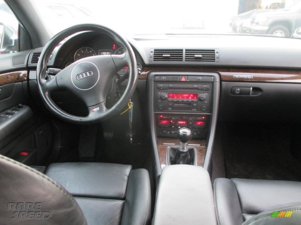 2004 S4 4.2 quattro Sedan - Dolphin Grey Metallic / Black photo #5