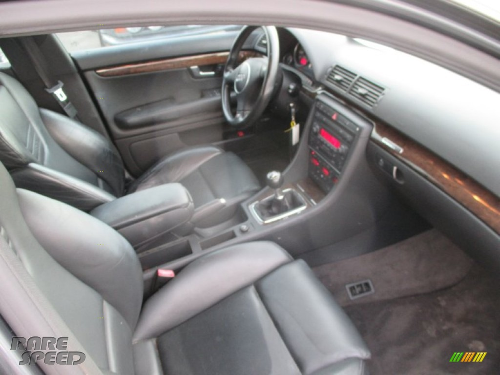 2004 S4 4.2 quattro Sedan - Dolphin Grey Metallic / Black photo #9