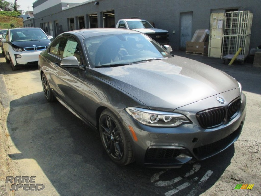 2016 Bmw M235i Xdrive Coupe In Mineral Grey Metallic For