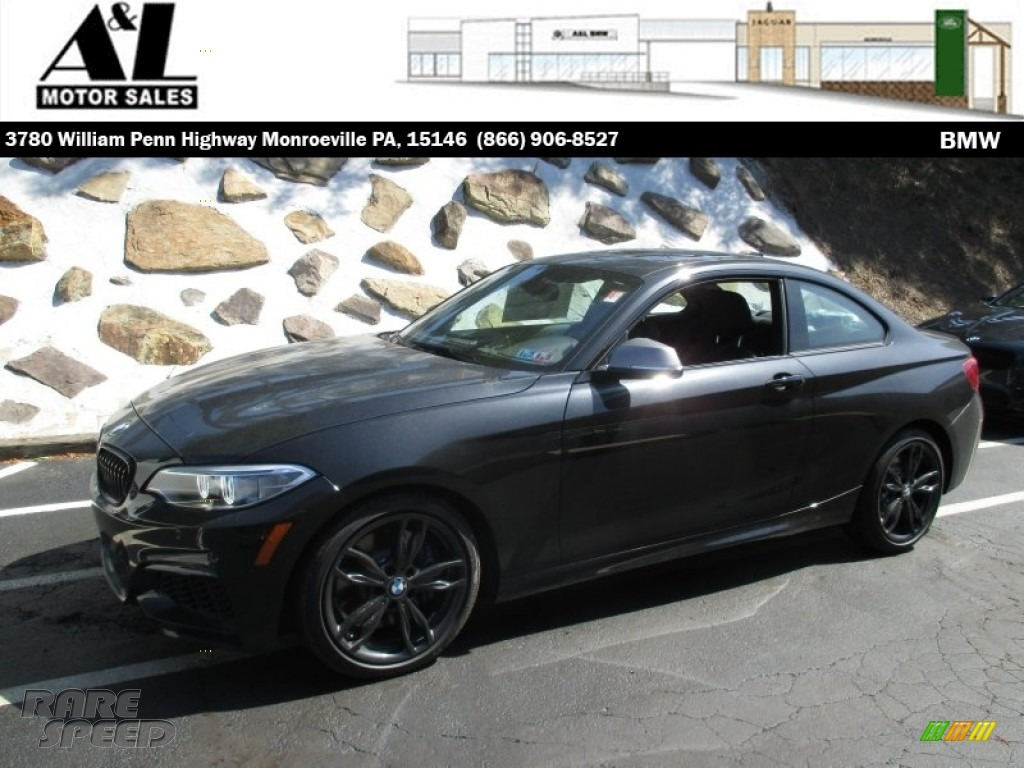 2016 bmw m235i xdrive coupe in black sapphire metallic. Black Bedroom Furniture Sets. Home Design Ideas
