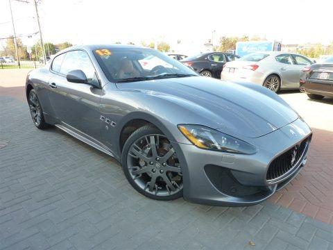 Grigio Alfieri (Grey) 2013 Maserati GranTurismo Sport Coupe