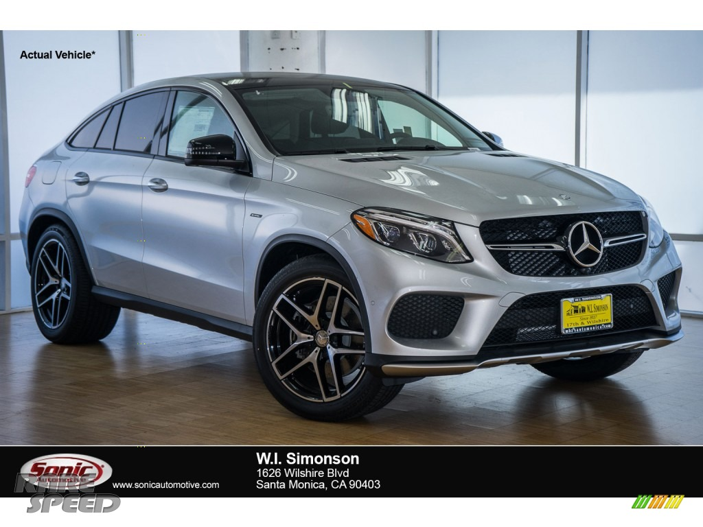 2016 mercedes benz gle 450 amg 4matic coupe in iridium for Simonson mercedes benz