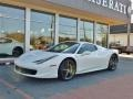 Ferrari 458 Italia Bianco Avus (White) photo #15