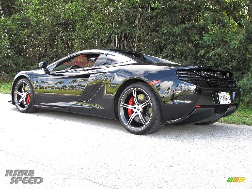 2015 650S Spyder - Carbon Black / Red photo #12
