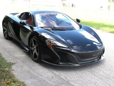 Carbon Black 2015 McLaren 650S Spyder