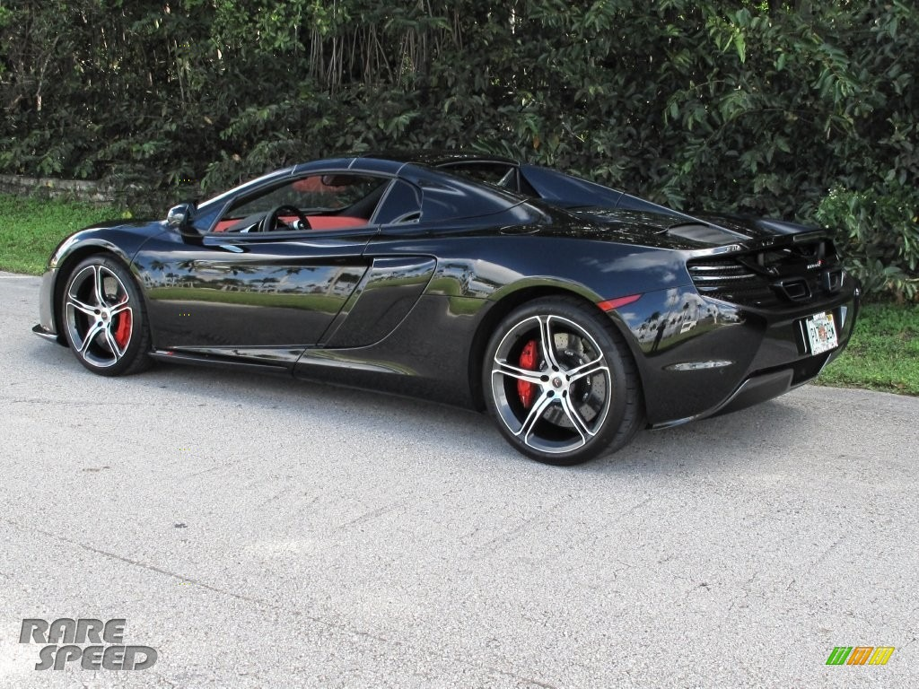 2015 650S Spyder - Carbon Black / Red photo #24