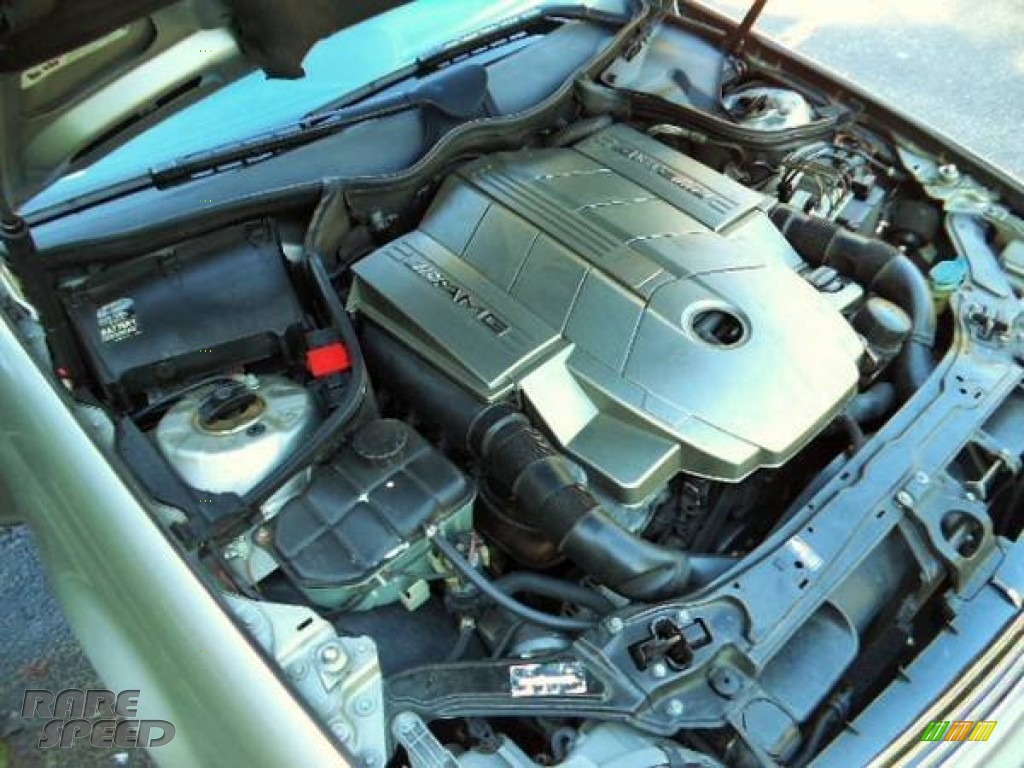 2005 C 55 AMG Sedan - Desert Silver Metallic / Black photo #12