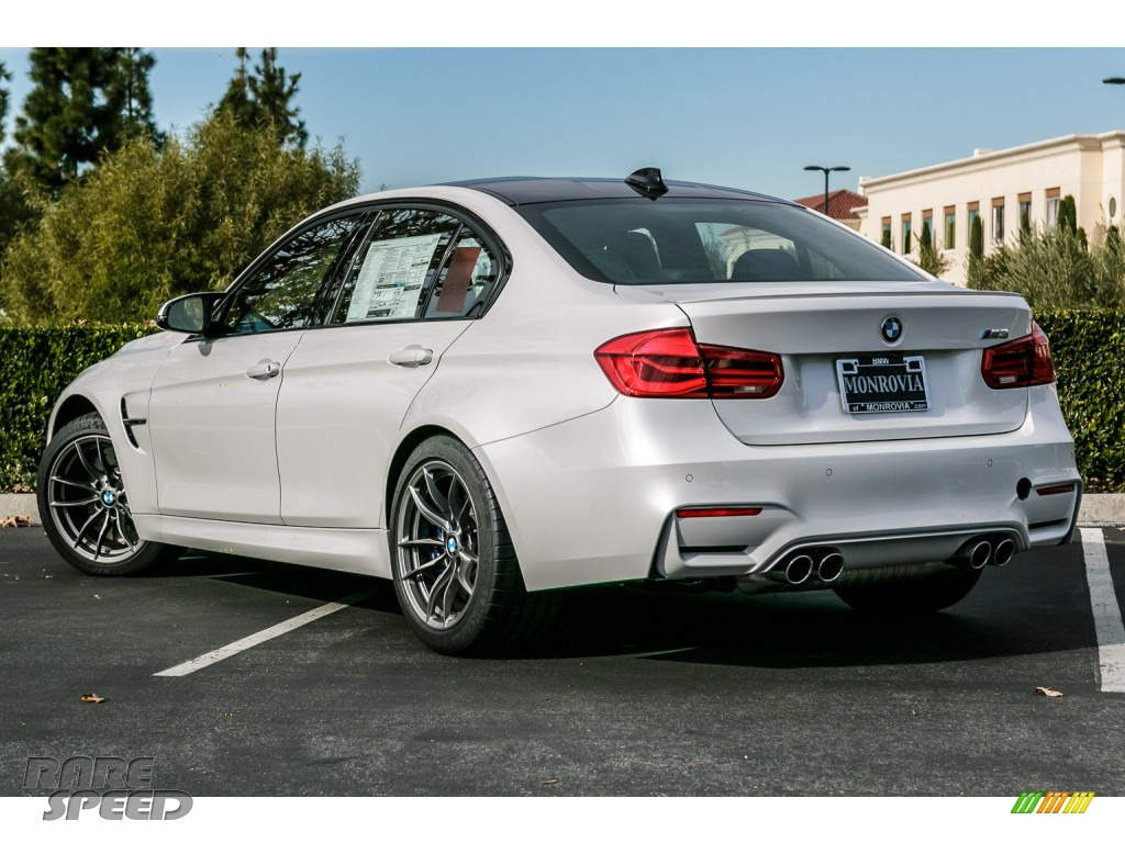 2016 Bmw M3 Sedan In Mineral White Metallic Photo 3 D31174