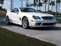 Mercedes-Benz SL 55 AMG Roadster Alabaster White photo #2