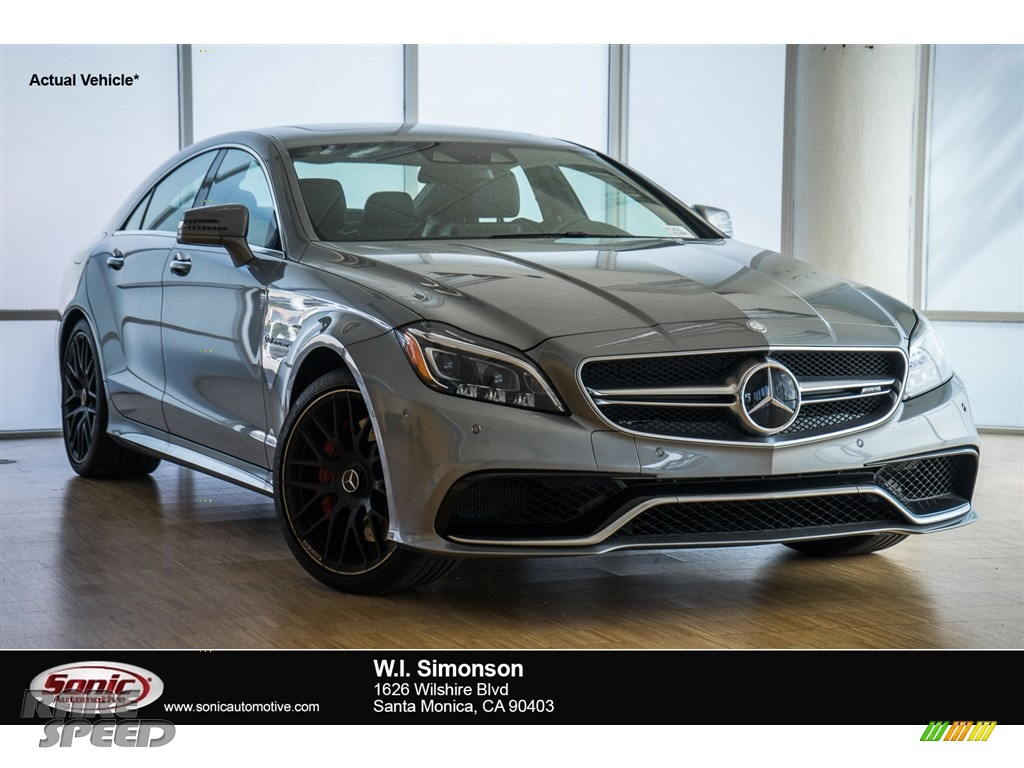 2015 mercedes benz cls 63 amg s 4matic coupe in palladium for Simonson mercedes benz