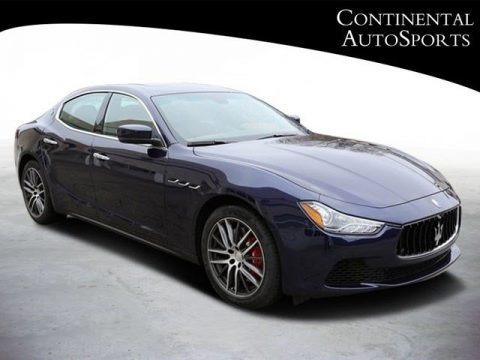 Blu Passione (Dark Blue Metallic) 2016 Maserati Ghibli S Q4