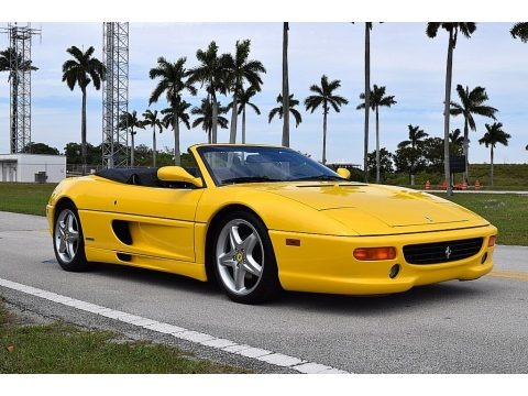 Giallo Modena (Yellow) 1995 Ferrari F355 Spider