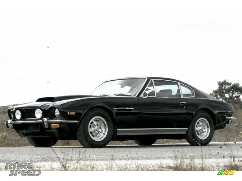 1976 V8 Vantage Coupe - Black / Black photo #1
