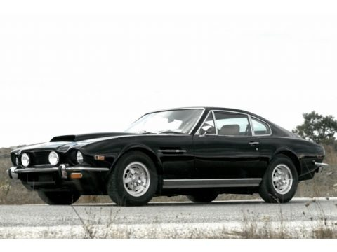 Black 1976 Aston Martin V8 Vantage Coupe