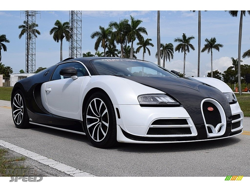 2008 Veyron 16.4 Mansory Linea Vivere - Pearl Metallic / White photo #1