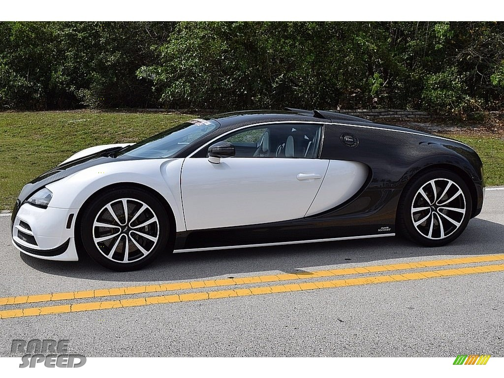 2008 Veyron 16.4 Mansory Linea Vivere - Pearl Metallic / White photo #5