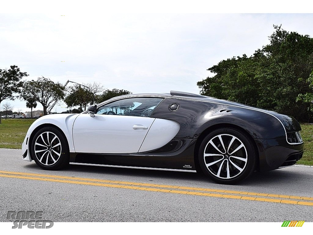 2008 Veyron 16.4 Mansory Linea Vivere - Pearl Metallic / White photo #7