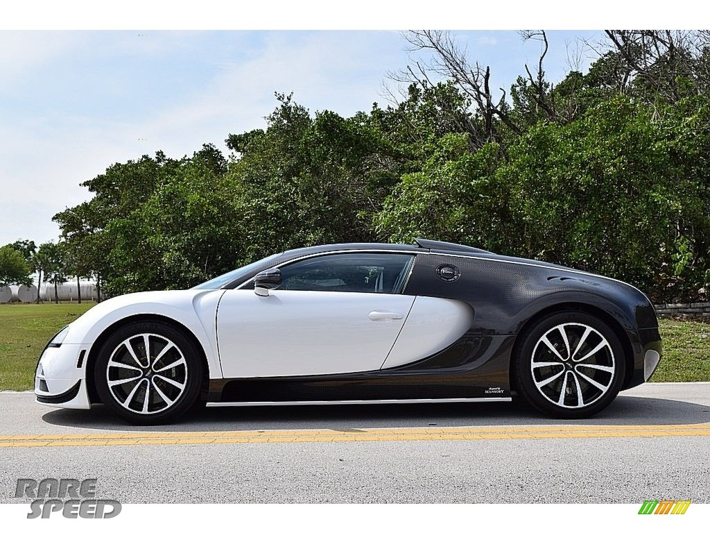2008 Veyron 16.4 Mansory Linea Vivere - Pearl Metallic / White photo #9