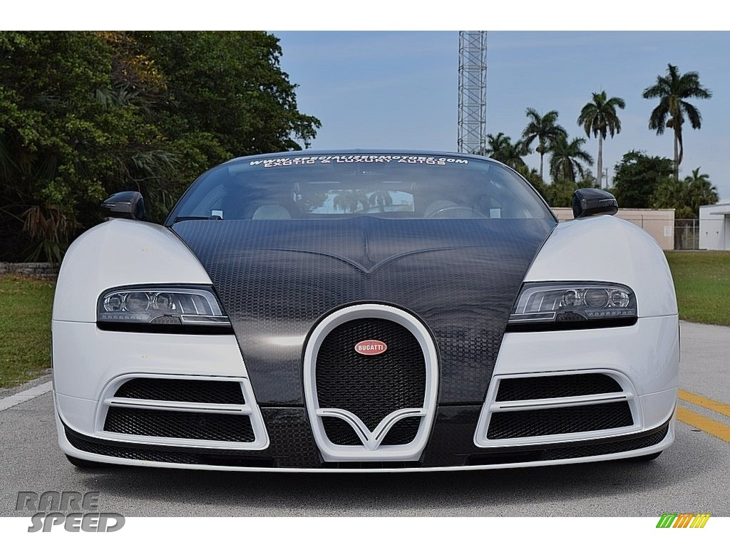 2008 Veyron 16.4 Mansory Linea Vivere - Pearl Metallic / White photo #10