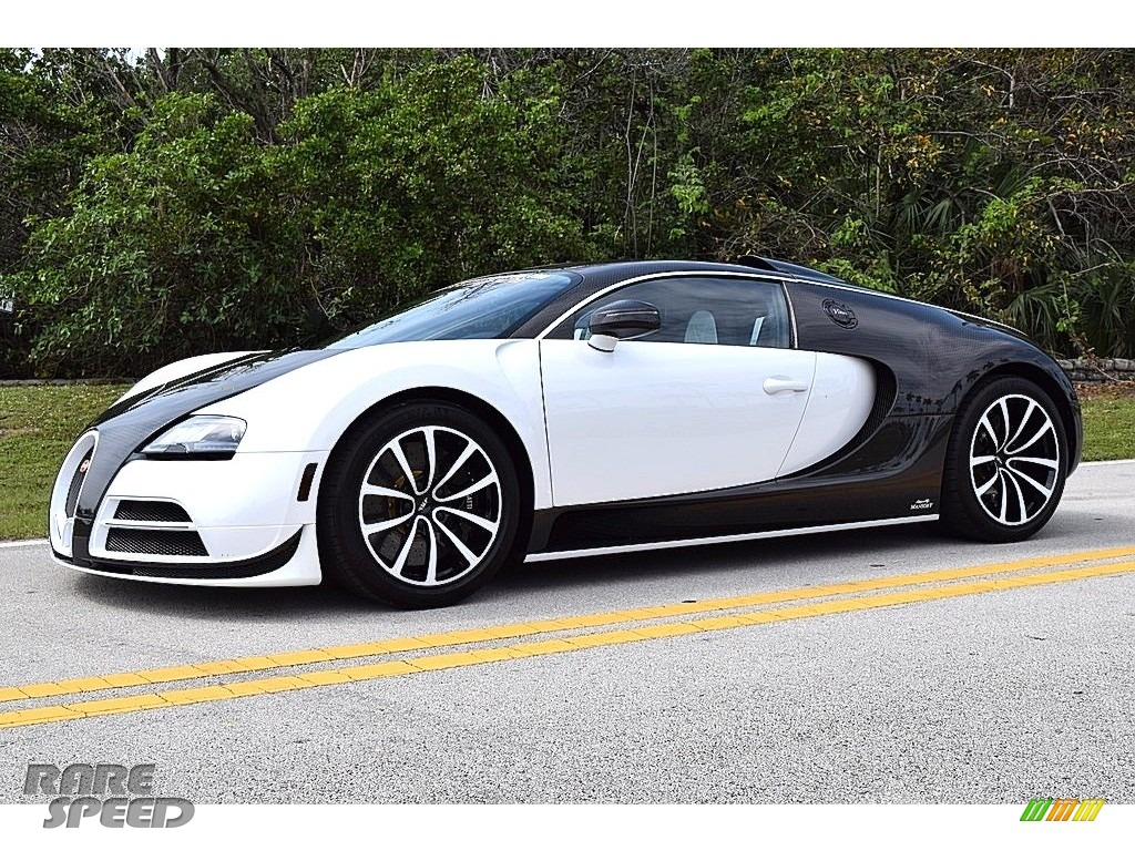 2008 Veyron 16.4 Mansory Linea Vivere - Pearl Metallic / White photo #11