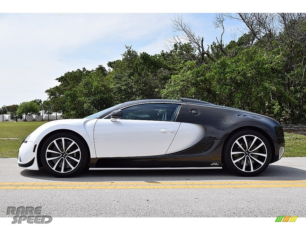 2008 Veyron 16.4 Mansory Linea Vivere - Pearl Metallic / White photo #19