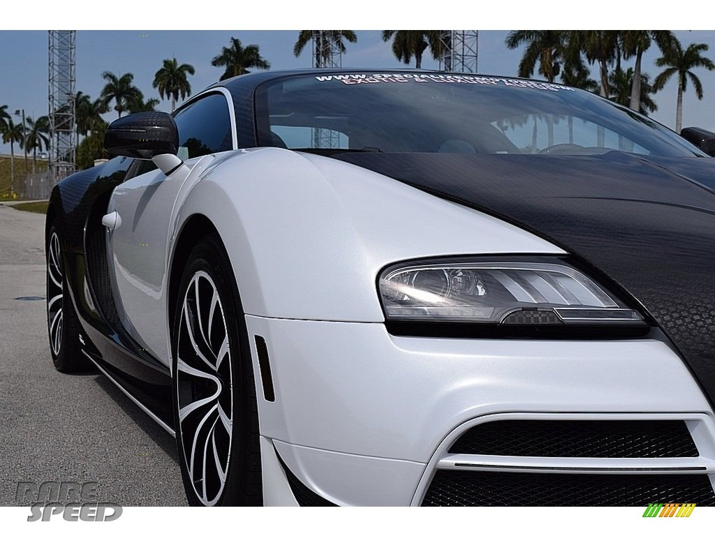 2008 Veyron 16.4 Mansory Linea Vivere - Pearl Metallic / White photo #21