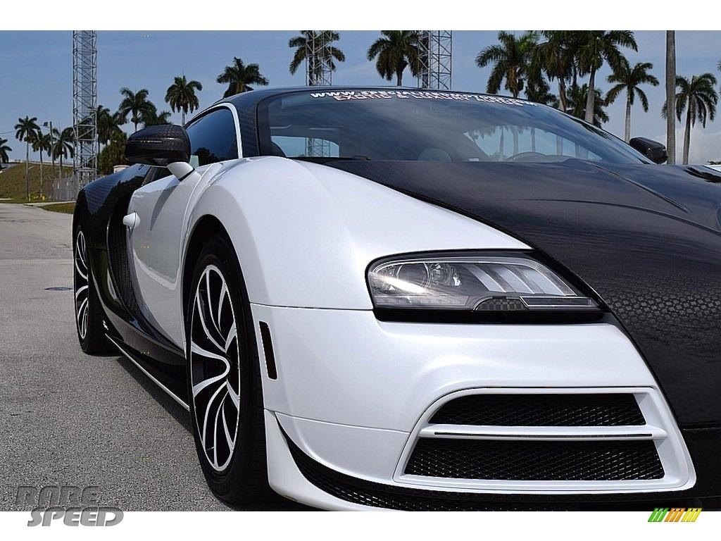 2008 Veyron 16.4 Mansory Linea Vivere - Pearl Metallic / White photo #22