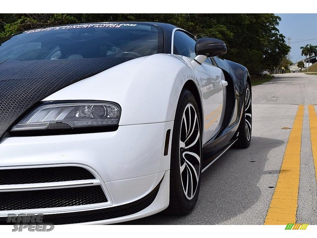 2008 Veyron 16.4 Mansory Linea Vivere - Pearl Metallic / White photo #24