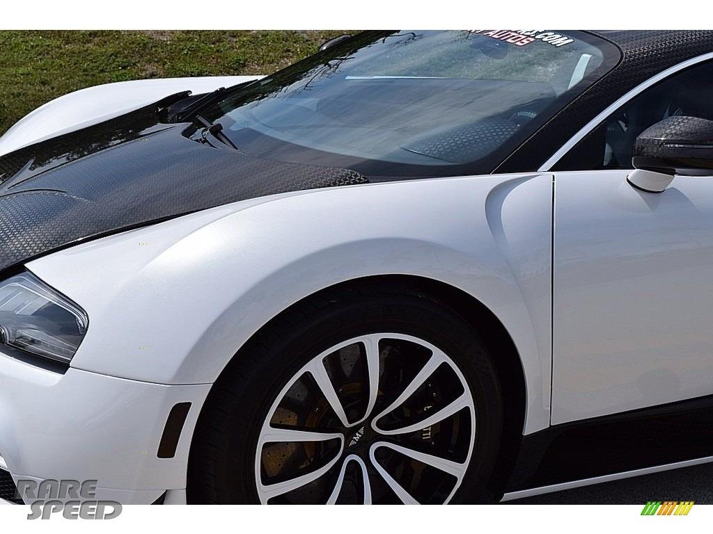 2008 Veyron 16.4 Mansory Linea Vivere - Pearl Metallic / White photo #28