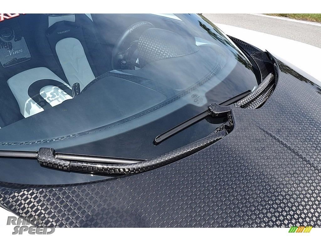 2008 Veyron 16.4 Mansory Linea Vivere - Pearl Metallic / White photo #67