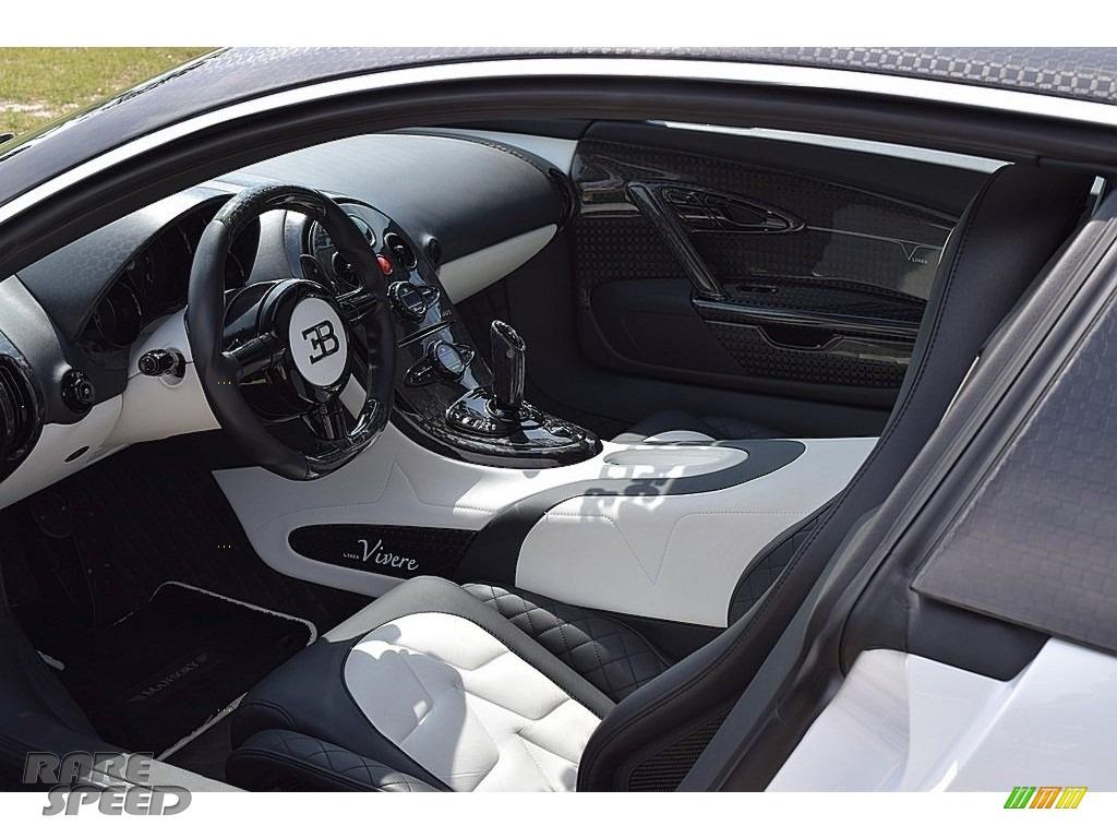 2008 Veyron 16.4 Mansory Linea Vivere - Pearl Metallic / White photo #78